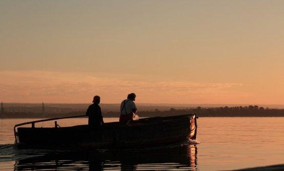 Michele e Santino Galasso, pescatori e coltivatori di cozze