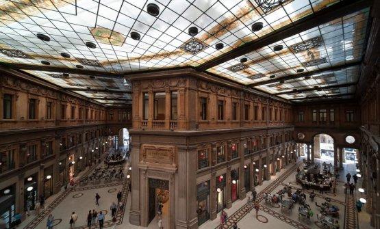 La galleria Alberto Sordi a Roma
