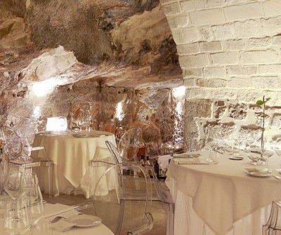 La magnifica sala della Locanda Don Serafino