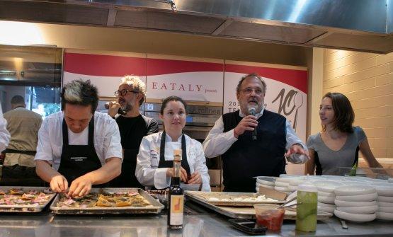 Paolo Marchi e il Francescana team