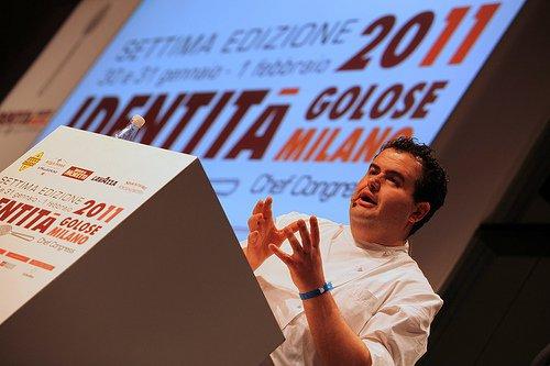 Qualche anno fa, Esposito a Identità Milano 2011