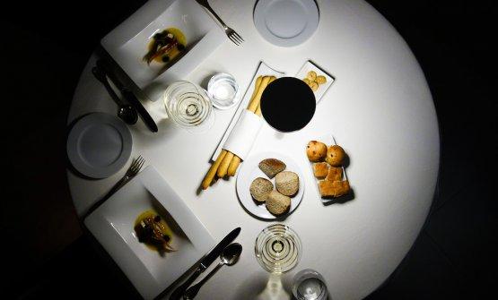 Tetateton the table atGennaro Esposito'sTorre del Saracino