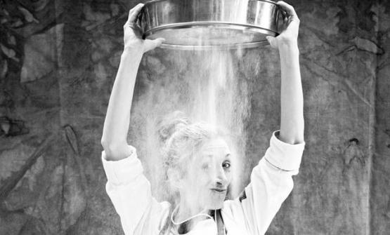 Roberta Gesualdo, romana,sincronette fino a 26 anni e poi pasticciera tra San Francisco, Londra, Roma e Copenhagen. Oggicoordina la brigata dolce del Mirazur, quarto ristorante al mondo per la World's 50Best 2017 (fotoMatteo Carassale)
