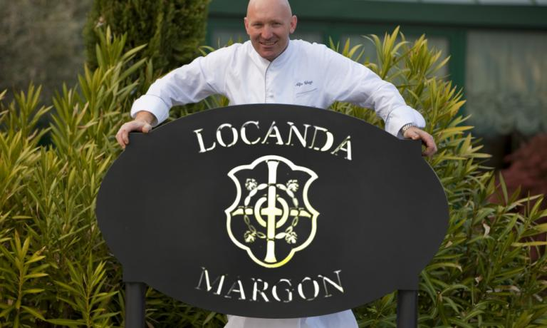 Locanda Margon's starred chef Alfio Ghezzi, from