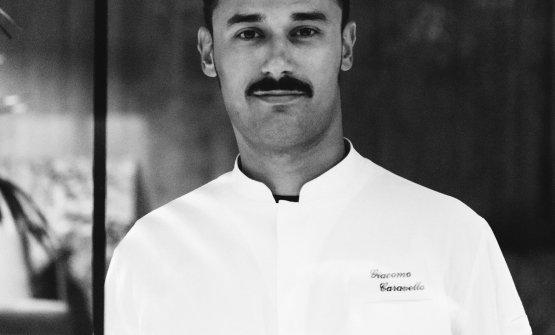Lo chef Giacomo Caravello(Foto Stefano Butturini)