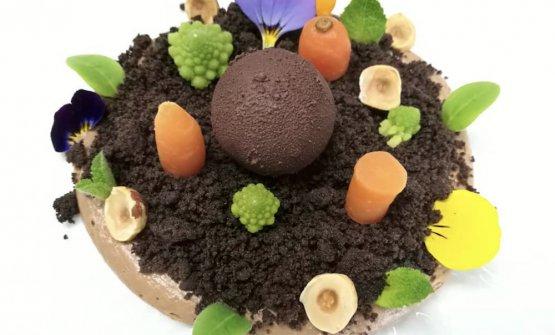 Gianduj-Orto, dessert