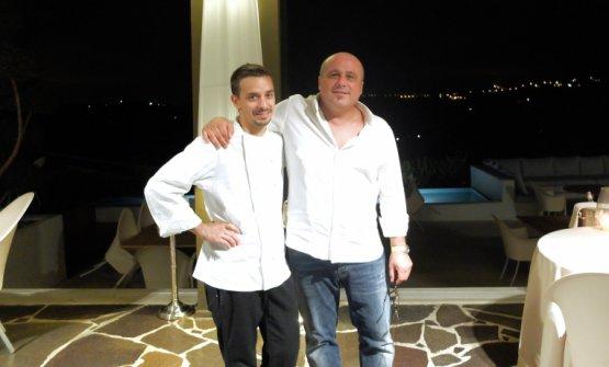Gorini nel 2016 con Claudio Amadori