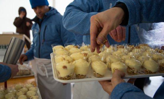 Tortel dolce in salsa di bombardino solidodi Gilmozzi