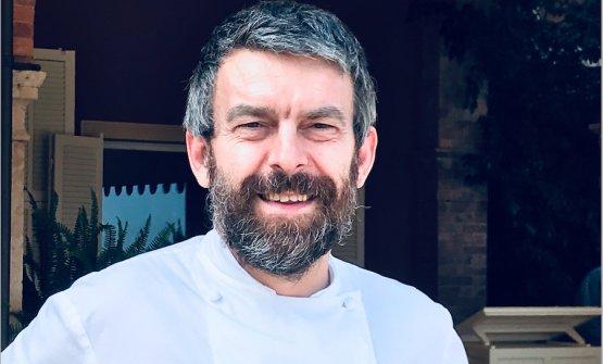 Giorgio Servetto, chef del ristorante Nove di Villa della Pergola ad Alassio