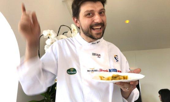 Alberto Gipponi al pranzo delle promesse dell'edizione 2018 di Festa a Vico