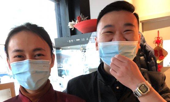 Giulia Dong e Lampo Wu, compagni nella vita: lei l