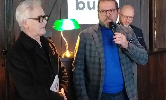 Giuliano Pellegrini ed Elio Ghisalberti