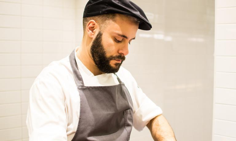 Giuseppe Lo Iudice, 29 anni, chef del Retrobottega di Roma