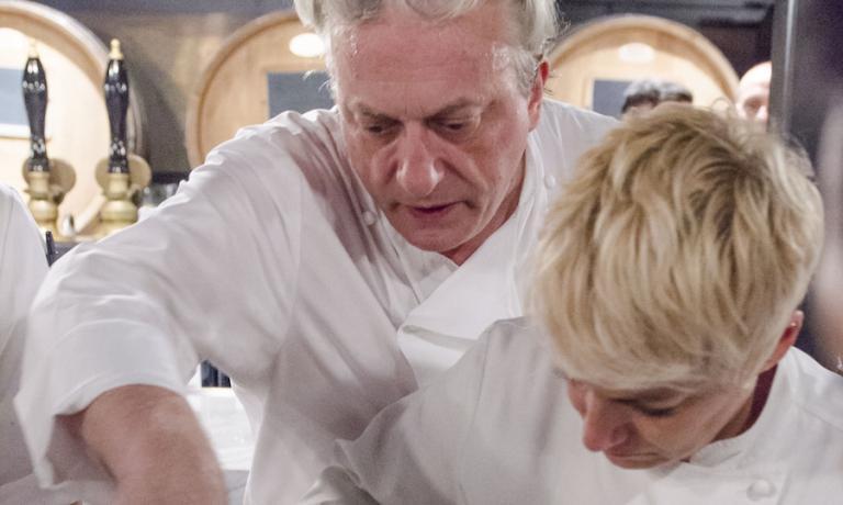 Davide e Barbara Scabin, in Italia lui è alla testa del Combal.zero a Rivoli sopra Torino, lei del Blupum a Ivrea