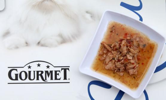"""La parola""""gourmet"""" è diventata anche un marchio di una linea di cibo per gatti. Sarà anche buonissimo, i felini sembrano apprezzare. La questione è un'altra.Zinola si chiede: non si abusa forse del termine?"""