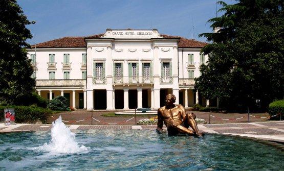 IlGrand Hotel Orologioad Abano. Fu sede di Europa a Tavola