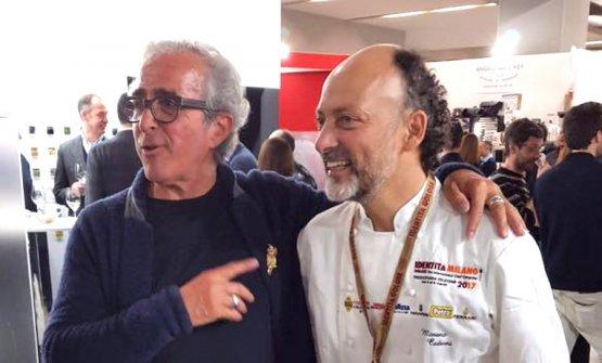Stefano Grandi e Moreno Cedroni