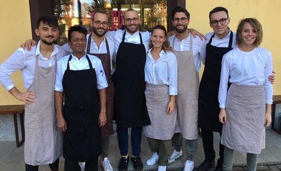 Il team al completo dell'Osteria BillisdiT