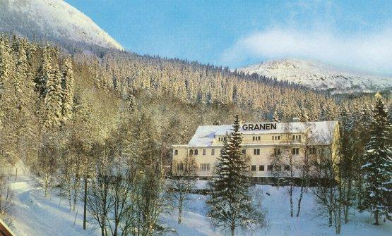 Il Granen in una foto d'epoca, l'altro hotel proprietà di Bibbo Nordenskjold