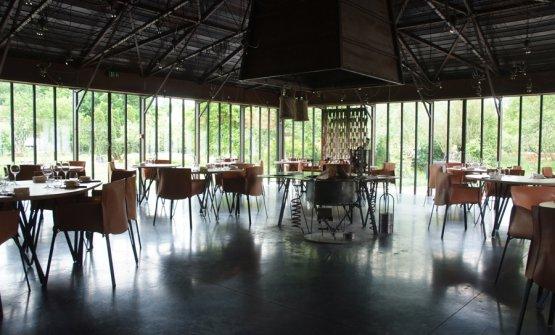 La sala rinnovata del ristorante LaGrenouillère