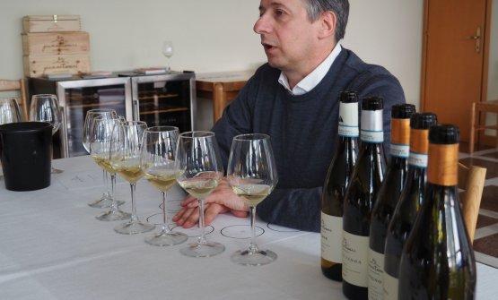 Gianni Tessari presenta i suoi Soave