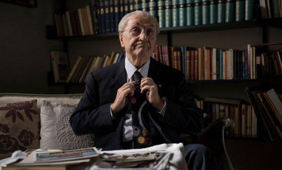 Quest'immagine, come le altre, è tratta dal filmGualtiero Marchesi The Great Italian, che sarà proiettato in numerose sale italiane (e in seguito anche internazionali) a partire dal 20 marzo