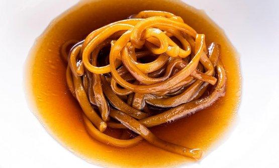 I Noodles di cipolla giarratana e zafferanodiD