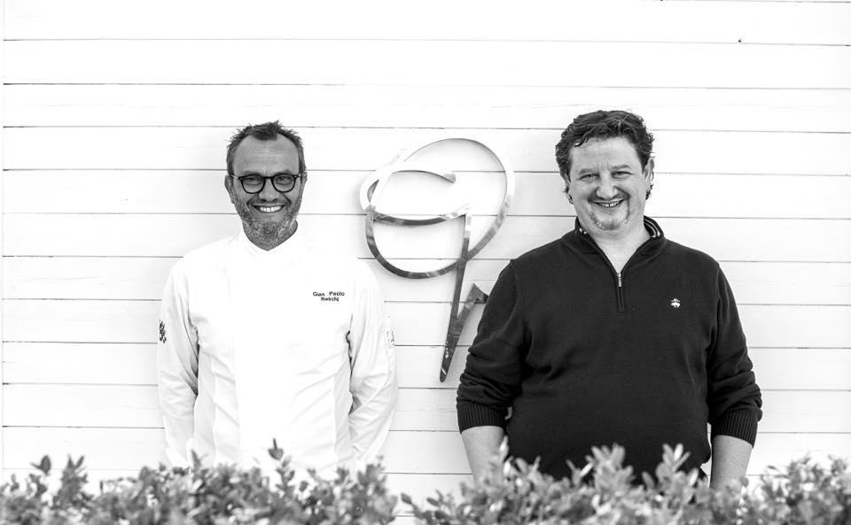 Gianluca e Gian PaoloRaschi, ristorante Guido a Rimini(foto facebook)