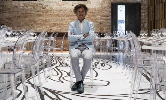Lo chef Guy Martin alla Biennale