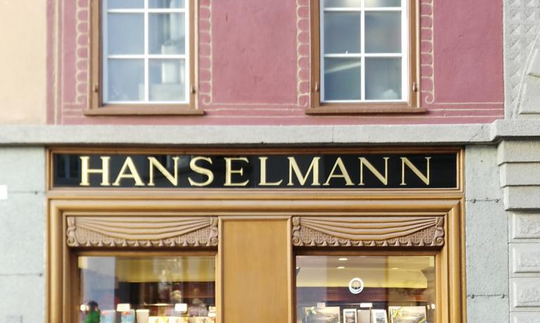 La pasticceria Hanselmann, a St.Moritz