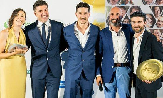 Un'immagine della premiazione dello scorso anno: a segnalare il Ronchettino guidato da Federico Sisti fu Andrea Ribaldone