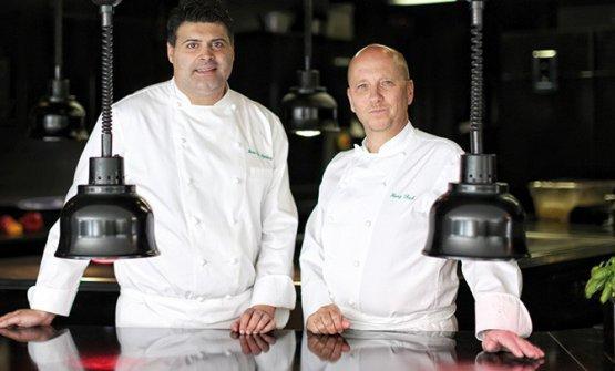 Heros De Agostinis e Heinz Beck