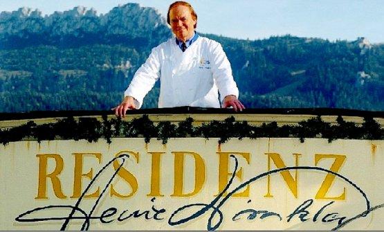 Heinz Winkler, primo italiano a ricevere le tre stelle