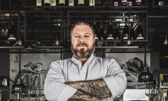 Lo chef Matteo Torretta