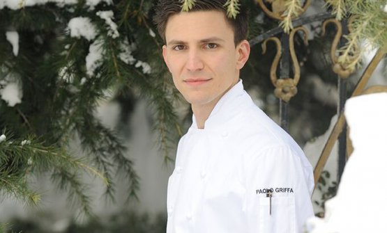 Paolo Griffa, chef del Petit Royal al Grand Hotel