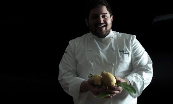 Cristoforo Trapani, chef deLa Magnolia dell'hotel Byron, a Forte dei Marmi