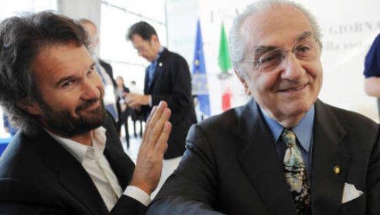 Carlo Cracco e Gualtiero Marchesi, l'allievo e
