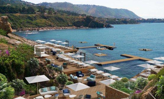 Rendering del nuovo Club Med di Cefalù