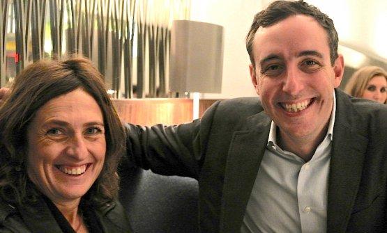 Will Guidara e Luisa Marchi