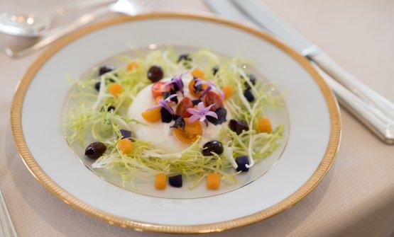 I tre piatti ideati da Alberico Nunziata col suo pastry chef svizzero Thomas Henzi