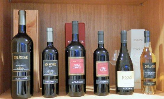 La batteria dei vini