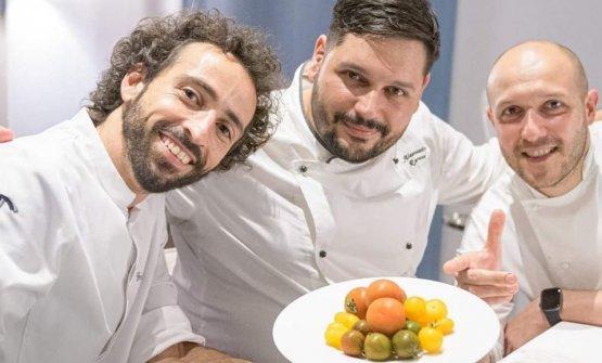 Il 24 ottobre a Genova cena speciale congli chef Franco Aliberti,Alessandro Ravanà e Marco Visciola