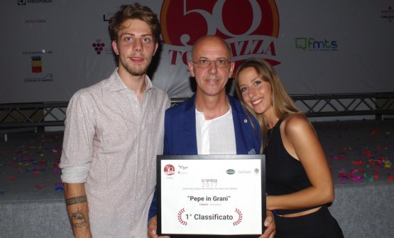 Stefano, Franco e Francesca Pepe