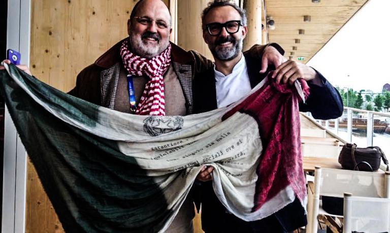 Paolo Marchi e Massimo Bottura