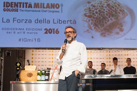 Massimo Bottura a Identità Milano 2016