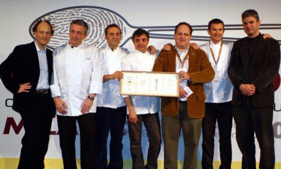 Identità Golose 2006: Cedroni, Scabin, Bottura, Uliassi, Marchi, Cracco e Leemann