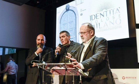 Andrea Ribaldone, Claudio Ceroni, Paolo Marchi (fo