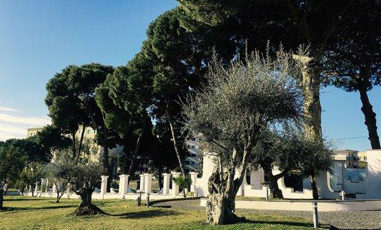Il giardino di Villa Guerra