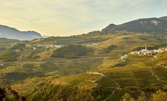 """La Val di Cembra è stata dichiarata""""Paesaggio rurale storico d'Italia"""" dal Ministero delle Politiche Agricole, Alimentari e Forestali"""