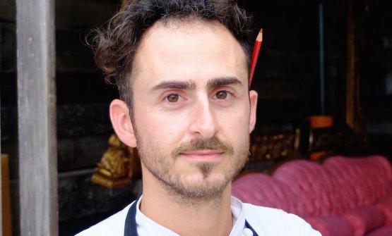 Il pasticciere romano Fabrizio Pellegrini